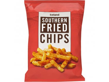 iceland southern fried chips 850g 57859