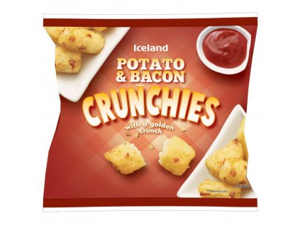 iceland potato bacon crunchies with a golden crunch 550g 51218