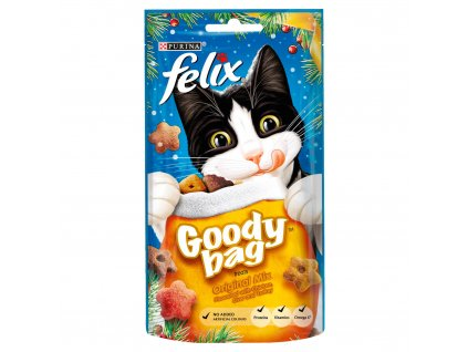 felix goody bag cat treats original mix 60g 56347 T1