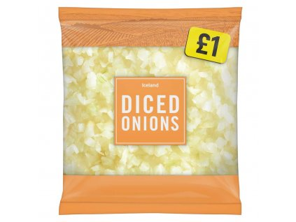 iceland diced onions 650g 53322