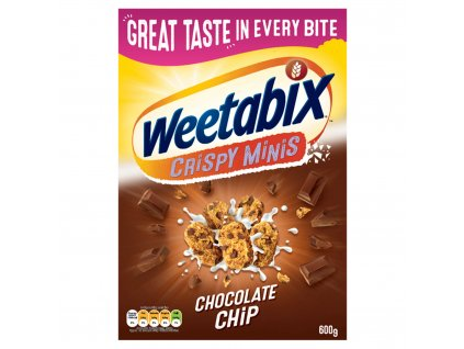 weetabix crispy minis chocolate chip cereal 600g 57294 T1