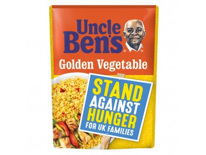 uncle bens golden vegetable microwave rice 250g 39644 T517