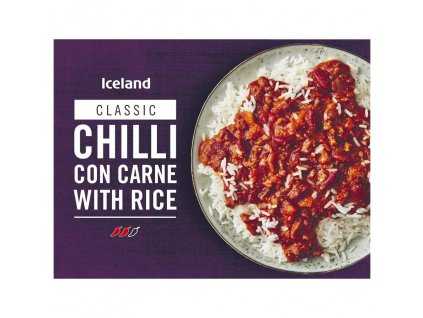 iceland chilli con carne with rice 400g 76697