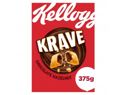 kelloggs krave chocolate hazelnut cereal 375g 50907 T1