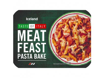iceland meat feast pasta bake 400g 79233