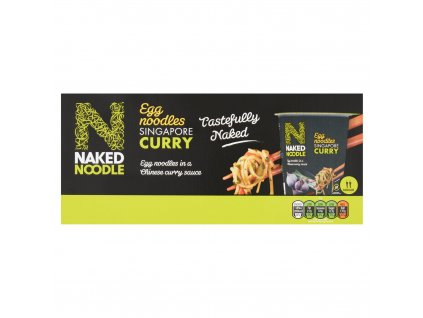 Naked Noodle 6pk Singapore Curry 77055
