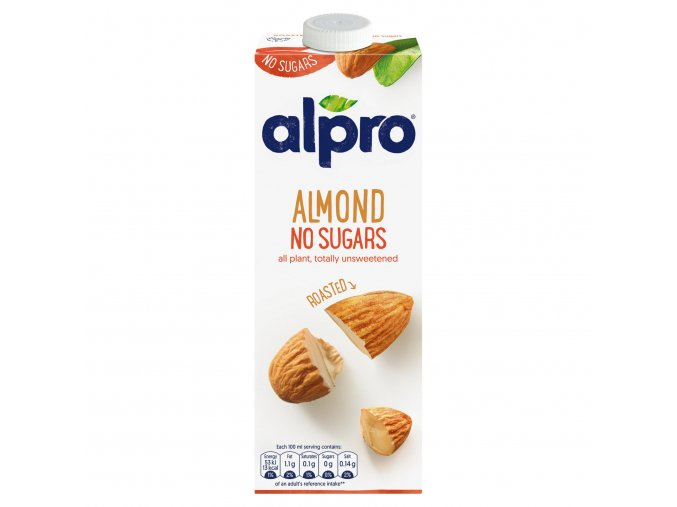 alpro almond no sugars roasted long life drink 1l 69335 T1