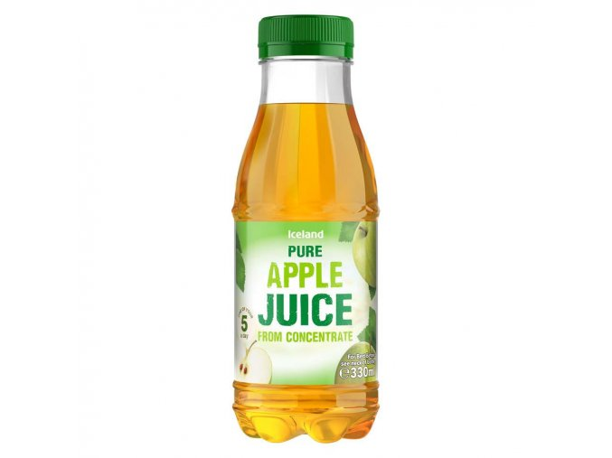 iceland pure apple juice from concentrate 330ml 54706