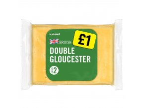 iceland british double gloucester cheese 180g 79457