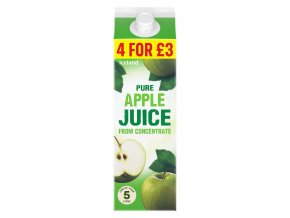 iceland pure apple juice from concentrate 1l 79716