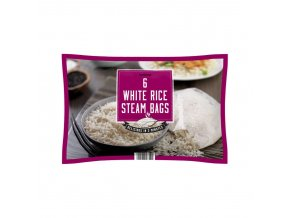 Iceland 6 White Rice Steam Bags 12Kg 58310