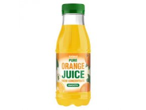 iceland pure smooth orange juice from concentrate 330ml 54707
