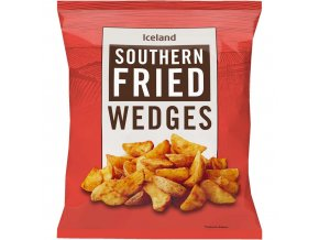 iceland southern fried wedges 1kg 41228