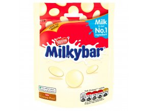 milkybar white chocolate giant buttons sharing pouch 80g 53791 T1