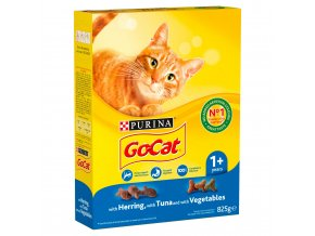 go cat adult with herring and tuna dry cat food 825g 25803 T1