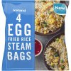 iceland 4 egg fried rice steam bags 500g 76996