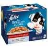 felix as good as it looks meaty selection in jelly wet cat food 12 x 100g 53927 T1