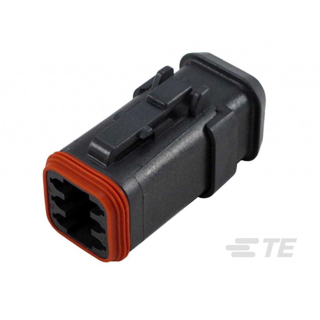 DT06-6S-EP11  Tělo vodotěsného konektoru řady DT