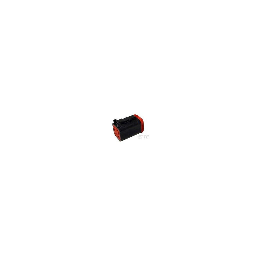 DT06-6S-P012  Tělo vodotěsného konektoru řady DT