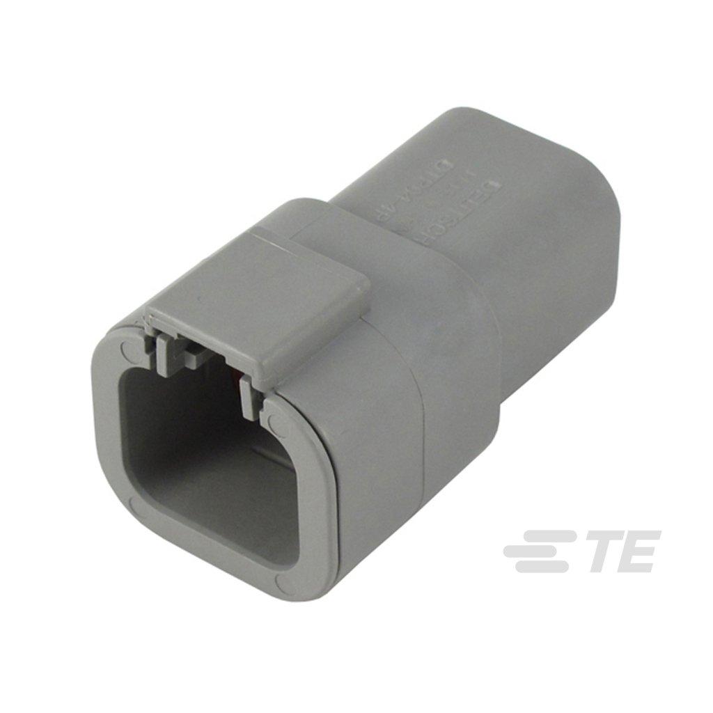 DTP04-4P-C015  Tělo výkonového těsněného konektoru řady DTP