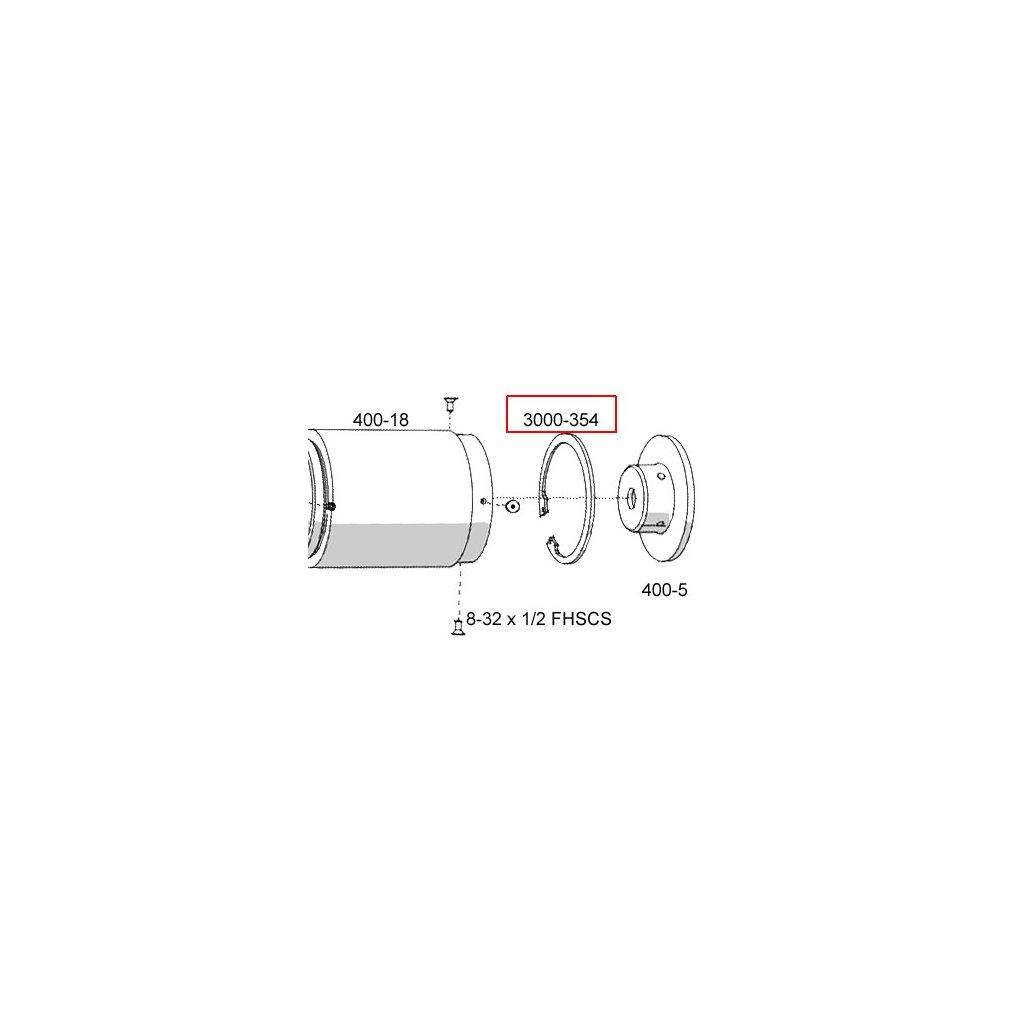 3000-354  Pneumatické lisovací nástroje - náhradní díly
