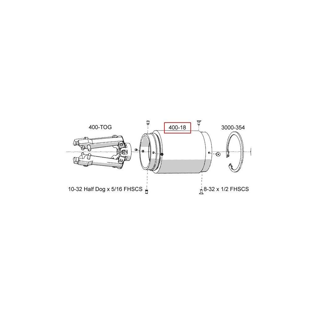 400-18  Pneumatické lisovací nástroje - náhradní díly