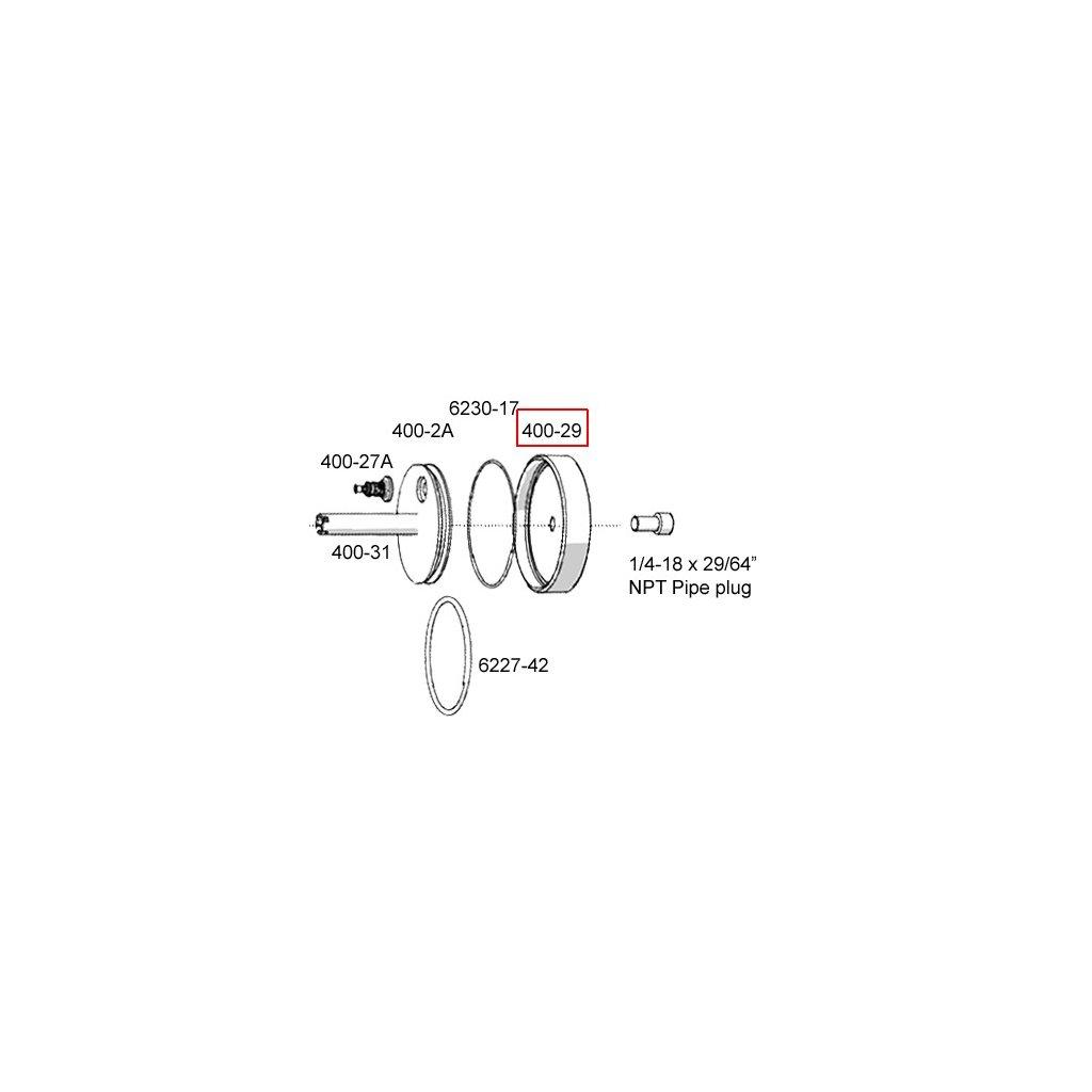 400-29  Pneumatické lisovací nástroje - náhradní díly