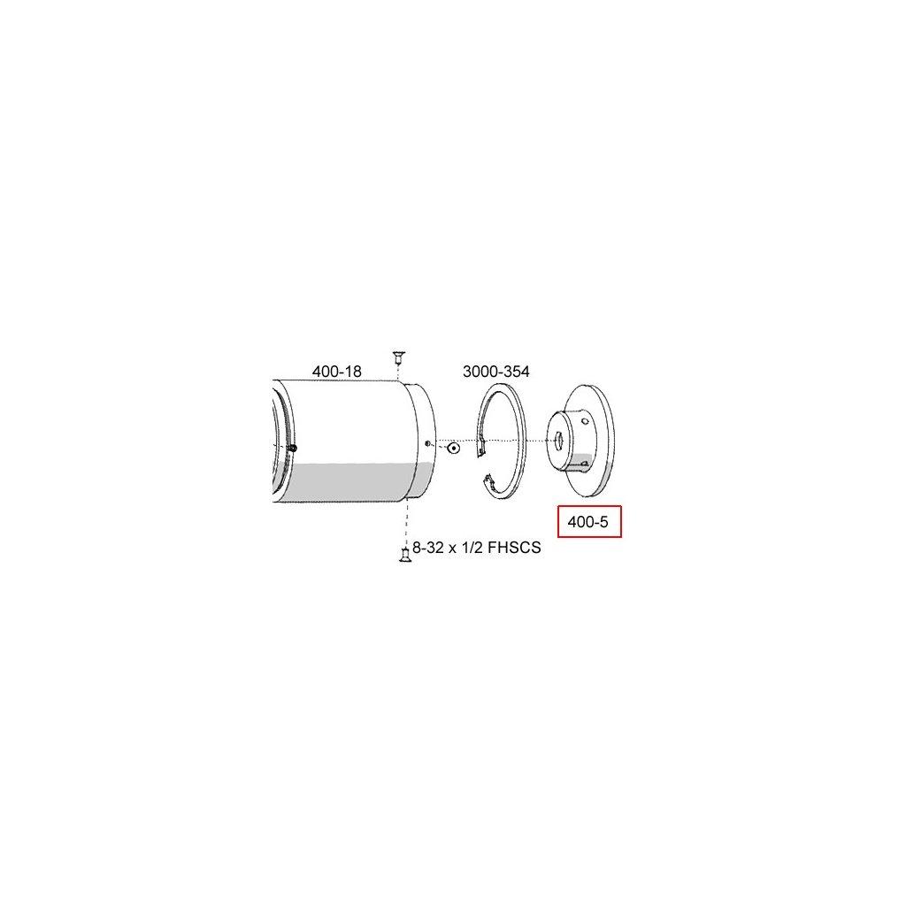 400-5  Pneumatické lisovací nástroje - náhradní díly