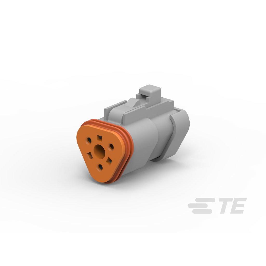 DT06-3S-C017  Tělo vodotěsného konektoru řady DT