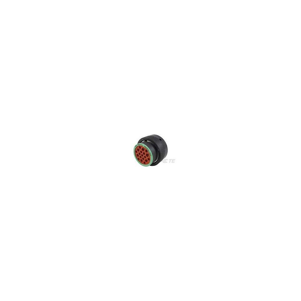 HDP26-24-19SN  Tělo kruhového bajonetového konektoru HDP