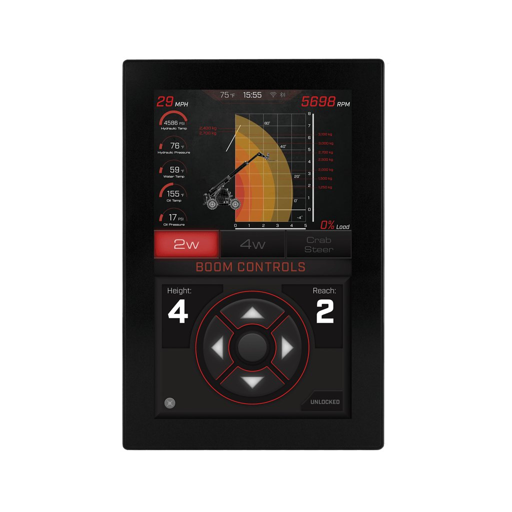 PV1100-LT  Odolný průmyslový displej pro řízení motorů a do náročných podmínek
