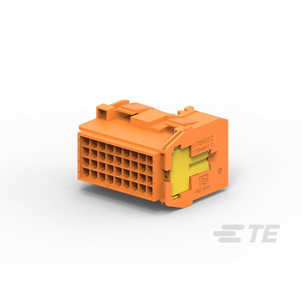 1-1718492-6  Tělo netěsněného konektoru řady MCP
