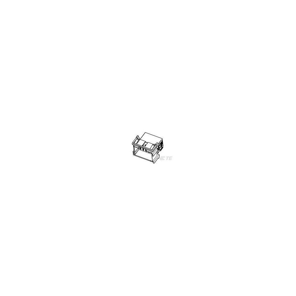 1-967628-2  Tělo netěsněného konektoru řady MCP