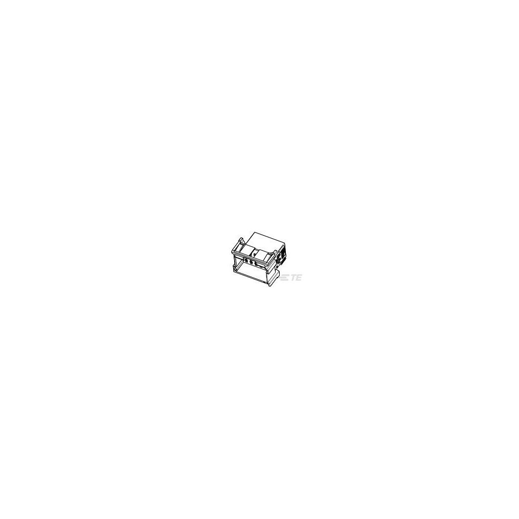 1-967628-3  Tělo netěsněného konektoru řady MCP