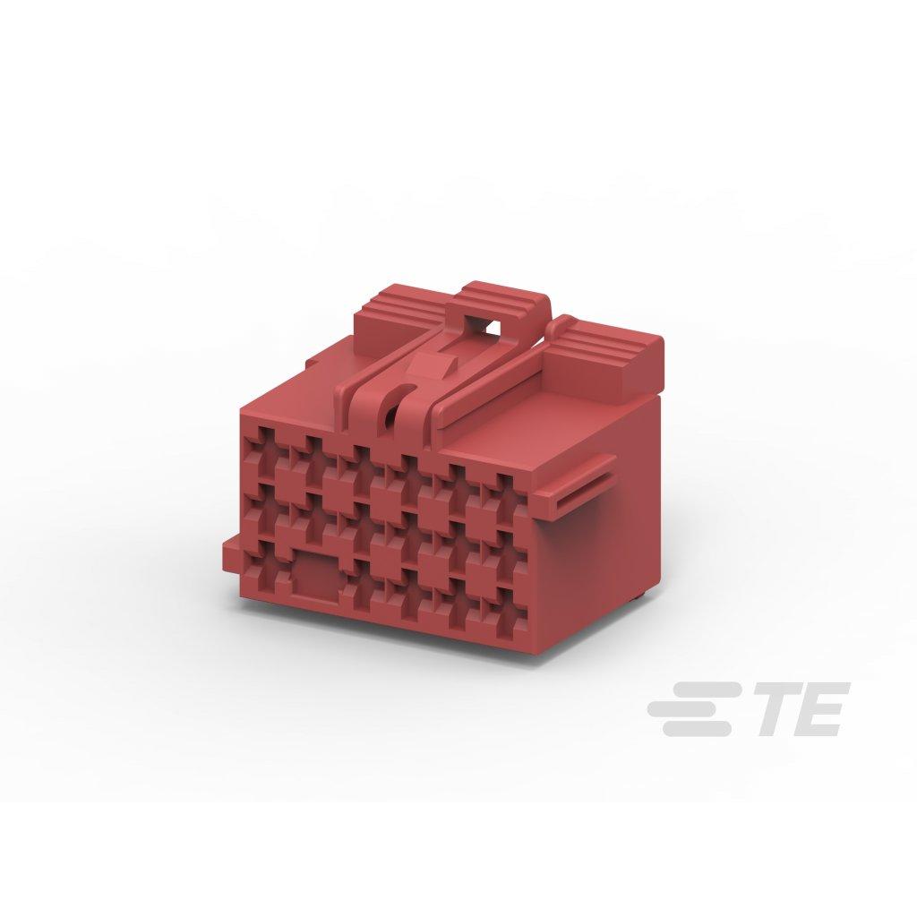1355204-2  Tělo netěsněného konektoru řady MCP