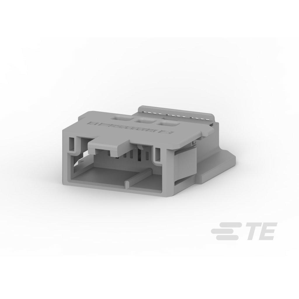 2-968977-9  Tělo netěsněného konektoru řady MCP