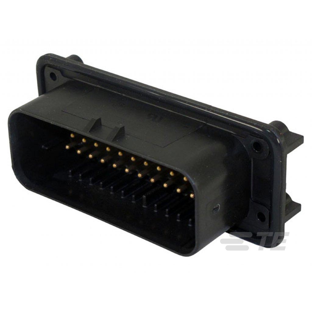 1-776163-1  Tělo konektoru řady AmpSeal pro tištěné spoje