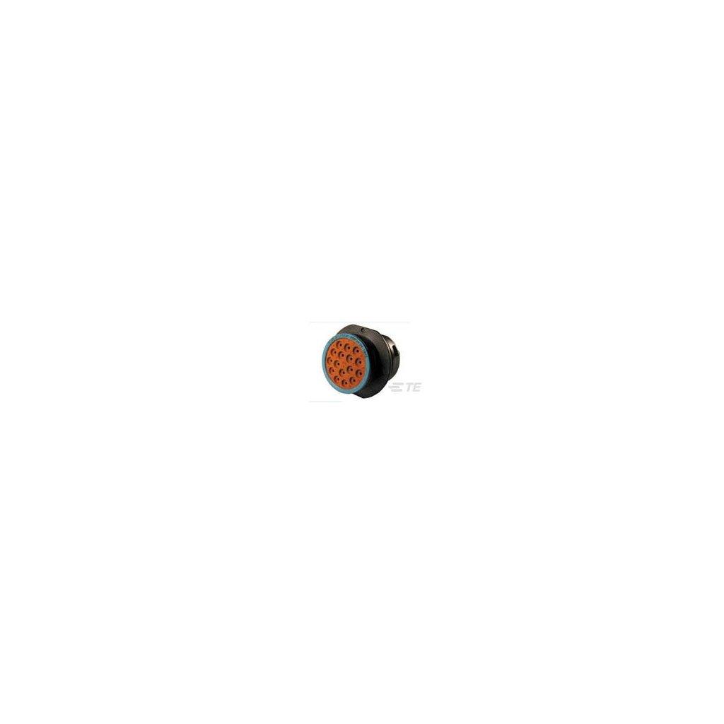 HDP24-24-16SE  Tělo kruhového bajonetového konektoru HDP