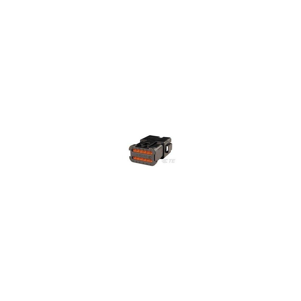 DT04-12PB-CE07  Tělo vodotěsného konektoru řady DT