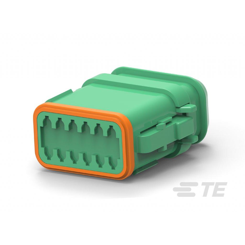 DT06-12SC-CE04  Tělo vodotěsného konektoru řady DT