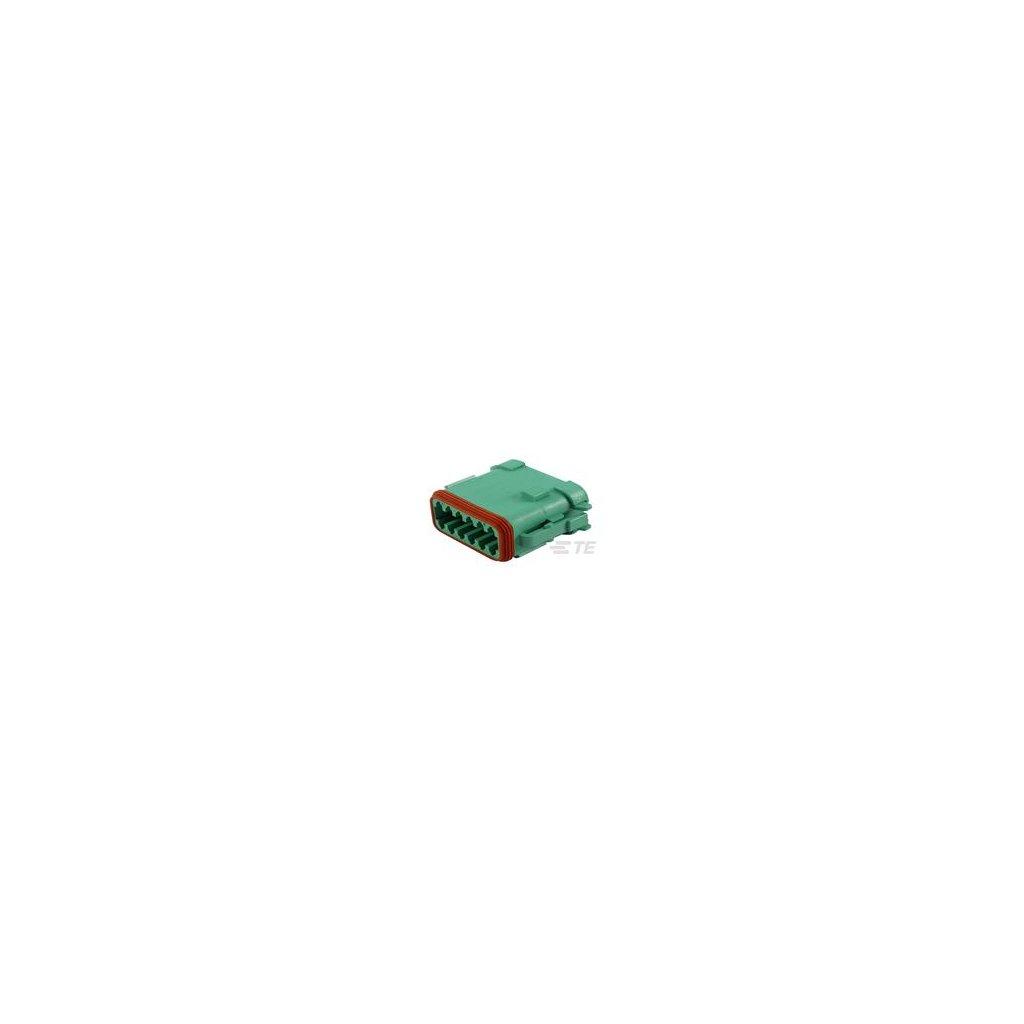 DT06-12SC-EP06  Tělo vodotěsného konektoru řady DT