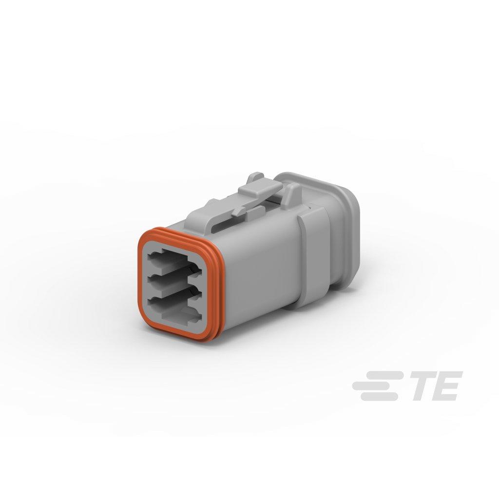 DT06-6S-E008  Tělo vodotěsného konektoru řady DT