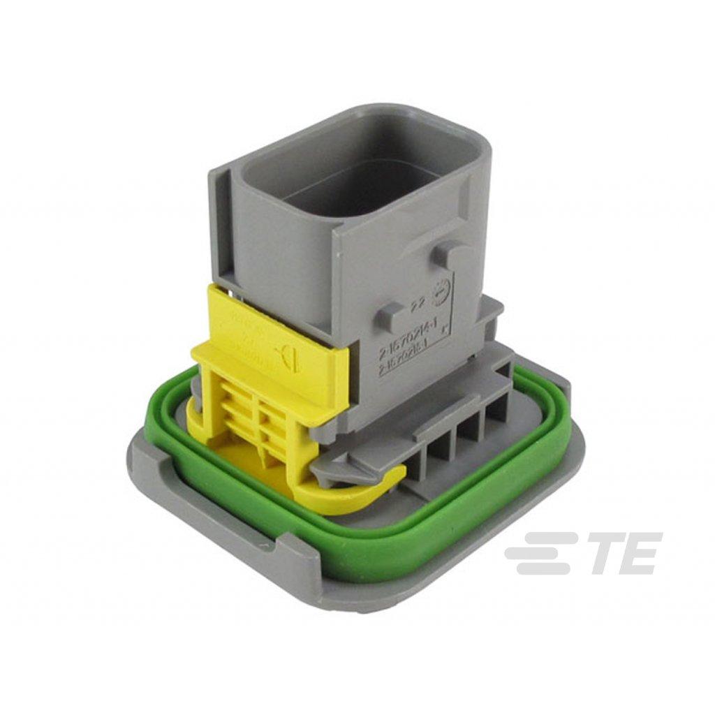 2-1670214-1  Tělo těsněného konektoru řady HDSCS