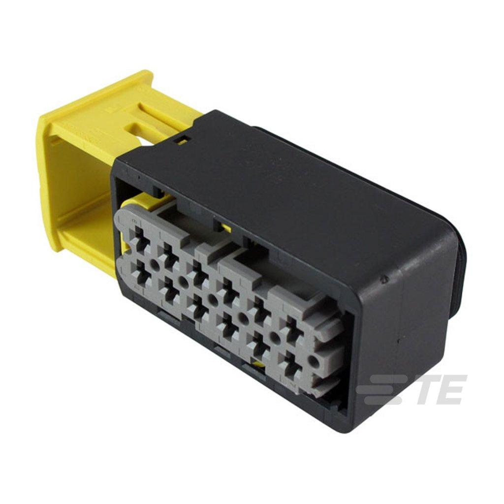 2-1670901-1  Tělo těsněného konektoru řady HDSCS