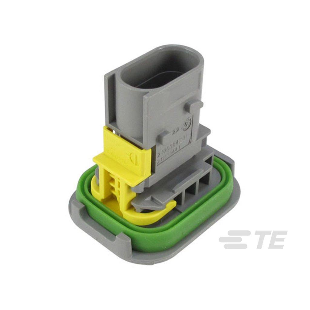 2-1703843-1  Tělo těsněného konektoru řady HDSCS