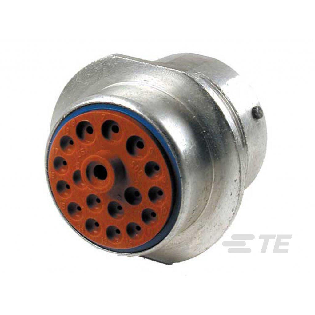 HD34-24-18SE  Tělo kruhového kovového konektoru HD-30