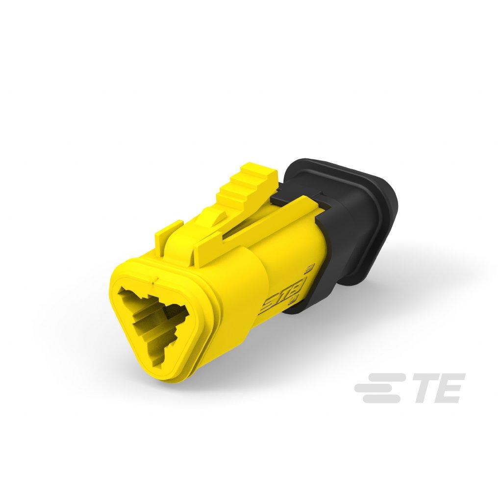 934452505  Konektry DT ve vylepšeném provedení s pevným těsněním