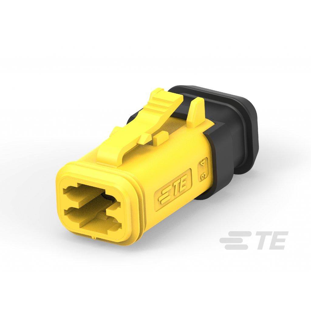 934453605  Konektry DT ve vylepšeném provedení s pevným těsněním