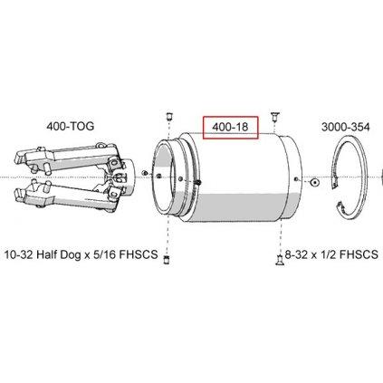 400-18  Pneumatické lisovací nástroje Pico - náhradní díly