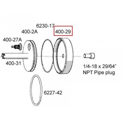 400-29  Pneumatické lisovací nástroje Pico - náhradní díly